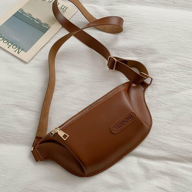 Women Bags Casual Women's Waist Pack Outdoor Fanny Pack Pu Leather Chest Bag Travel Sports Phone Belt Bag Sac Banana Femme