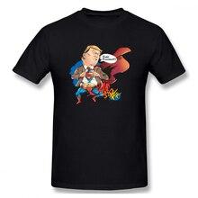 100% cotton Not My President Super Hero print casual mens o-neck t shirts fashion Mens Basic Short Sleeve T-Shirt