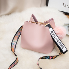 2020 Spring Summer Fashion Women Bag Ball Pendant Female Buc