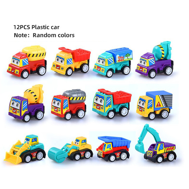 12 Plastic Car 2