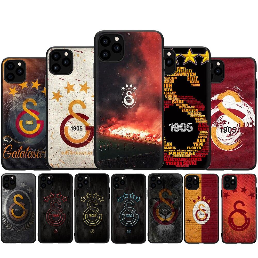 Силиконовый чехол Galatasaray SK для iphone 5 5s SE 2020 6 6s 7 8 Plus X XR XS 11 12 Pro Max 12 Mini