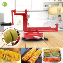 Popular Stainless Steel  Potato Slicer Spiral Whirlwind Potatoes Machine Fruit Vegetable Cutter  Stainless Steel Twisted Potato цены