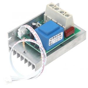 Image 4 - 10000W AC 220V SCR Regolatore di Tensione Dimmer Regolatore di Velocità del Motore Termostato Elettronico Regolatore di Tensione con Tester Digitale