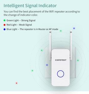 Image 5 - COMFAST repetidor WIFI de alta velocidad de 1200Mbps, amplificador de señal WiFi de banda Dual de 2,4 y 5G, enrutador inalámbrico 802.11ac, CF WR752AC V2