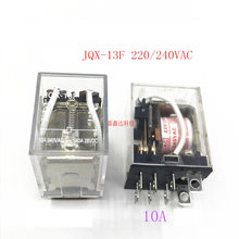HEIßER 12VA NEUE relais JQX 13F 220/240VA C JQX 13F 220/240VAC 10A 8PIN