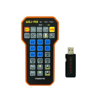 CNC Engraving parts remote control mach3 MPG USB wireless hand wheel for CNC machine electronic hand wheel handheld encoder 25ppr 100ppr manual pulse generator mpg for siemens fanuc mitsubishi