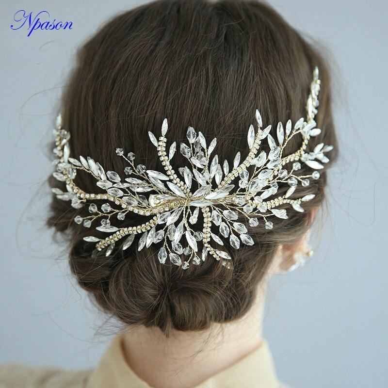 Women/'s Hair Accessories Comb Pin with Rhinestones Wedding Jewelry