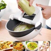 9 в 1 многофункциональная овощерезка с сливная корзина Кухня