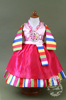 Premium Korean Tradtional Girl Hanbok Dress Kids Birthday Party Korean Dolbok Baby Outfit Little Girls Clothing