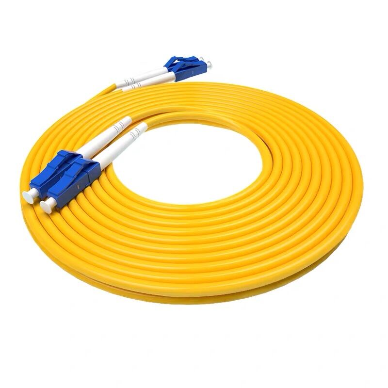 10M Duplex Single Mode 9//125 LC to FC Optical Fiber Patch Cord Jumper Cable SM