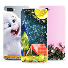Phone Case For OPPO A7 A5 K1 F7 Soft Silicone Cute Cat Painted Back Cover For OPPO Realme 2 R17 Pro Case(China)