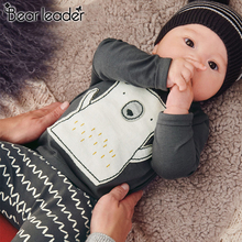 Bear Leader Boy Clothing Sets Long Sleeve Kids Clothes Autumn Spring Cartoon Set for Baby