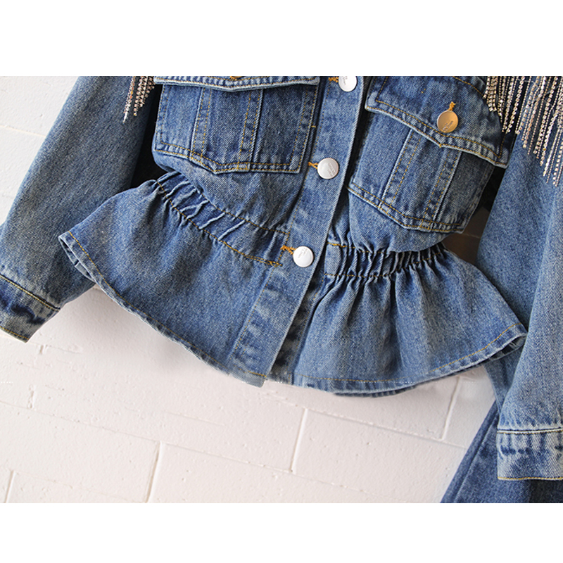 H509db61b98204cedbb137873a5666dabf - NEW KId's Jean Jacket for Girls Cute Unicorn Coats Denim Jacket for Children Girls Clothes Jean Jackets For Toddler & Kids