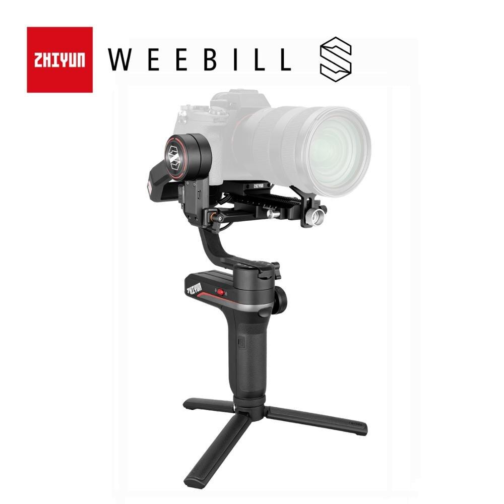 Zhiyun oficial weebill s 3-axis estabilizador de transmissão de imagem para câmera mirrorless display oled cardan handheld nova chegada