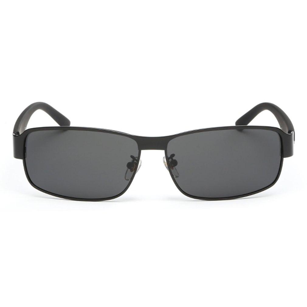 Classic Aluminum Men Sunglasses Polarized Goggles Rimless Square Coating Mirror Sun Glasses New Male Driving Eyewear Accessories