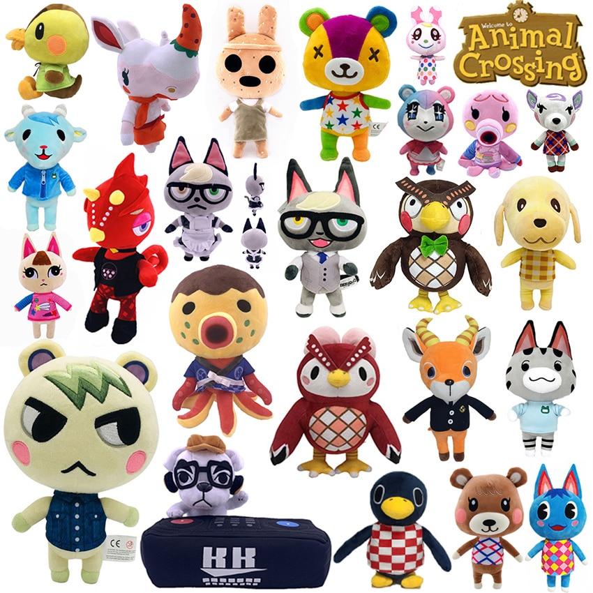 Перекрещивающаяся плюшевая игрушка Raymond Anima, переключатели Ketchup Marshals, подарите карты Amiib, плюшевая игрушка-слайдер, мягкая кукла Изабель