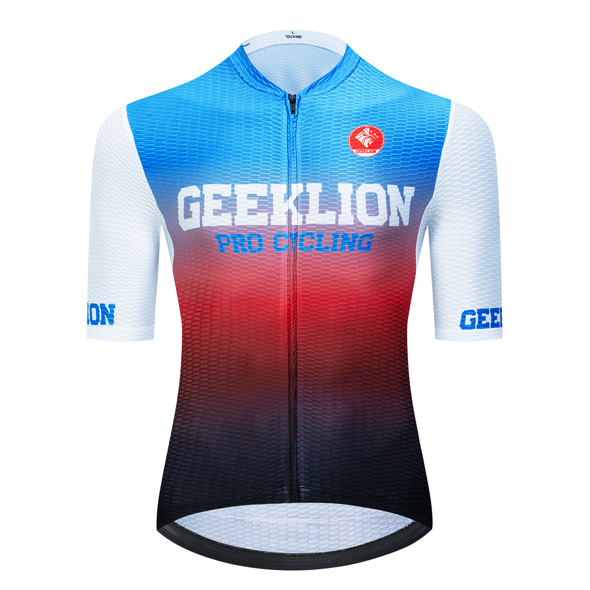 Geeklion Cycling Jersey Bike-Wear Short-Sleeves Road-Bike Maillot Ciclismo Summer Elastic title=