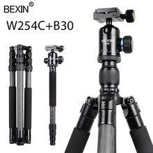 цена на Travel Photography Carbon Fiber Professional Portable Lightweight Camera Tripod Stand For Dslr Camera Mount Adapter Stand Tripod