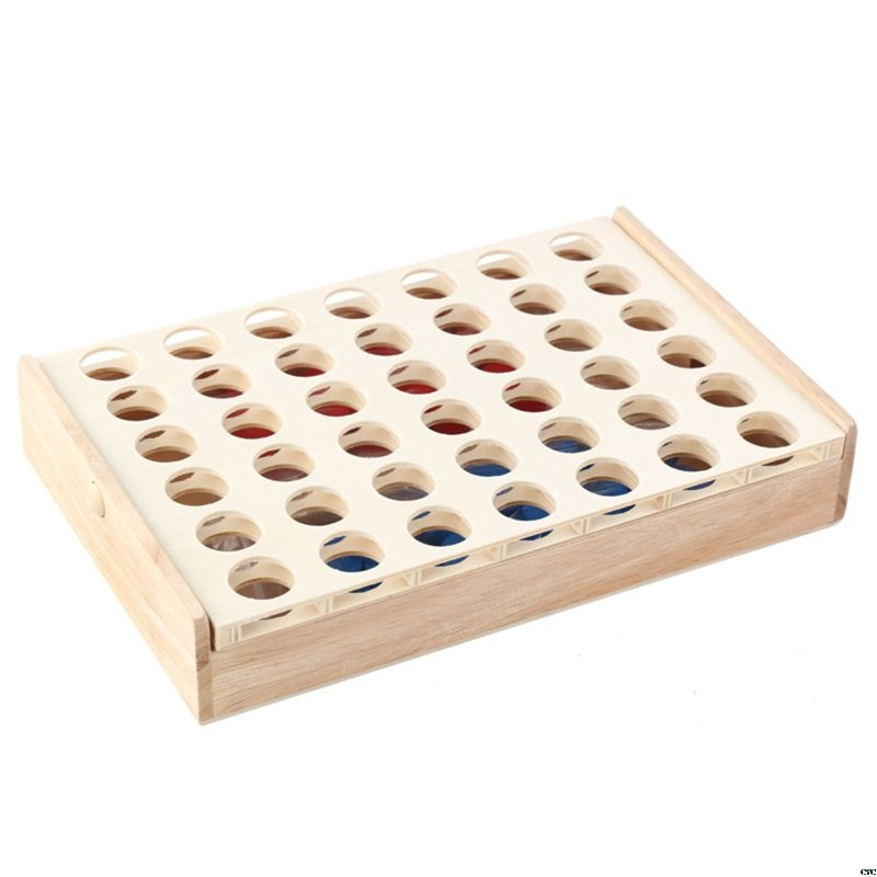 Four in a Row Wooden Game 13