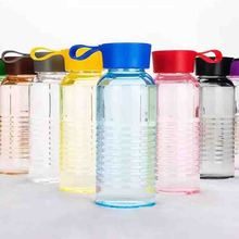 Creative colorful plastic cup student new water leak-proof and drop-proof portable