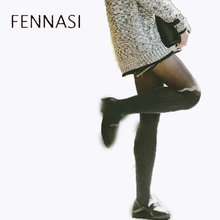 FENNASI Fashion Nylon Female Pantyhose Women Sexy Tight Stitching Tights Breathable Comfortable Elastic Warm