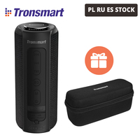 [In Stock] Tronsmart Element T6 Plus TWS Portable Bluetooth Speaker TF/SD Card 40W 15 hours outdoor portable mini Speaker
