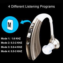 4 Modes Digital BTE Hearing Aid Ear Aids for the elderly Wireless Noise Reduction Sound Amplifiers VHP-220 Long Battery Life