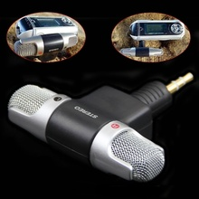 JETTING 1PC Mini 3.5mm Jack Microphone Stereo Mic For Recording Mobile Phone Studio Interview Microphone