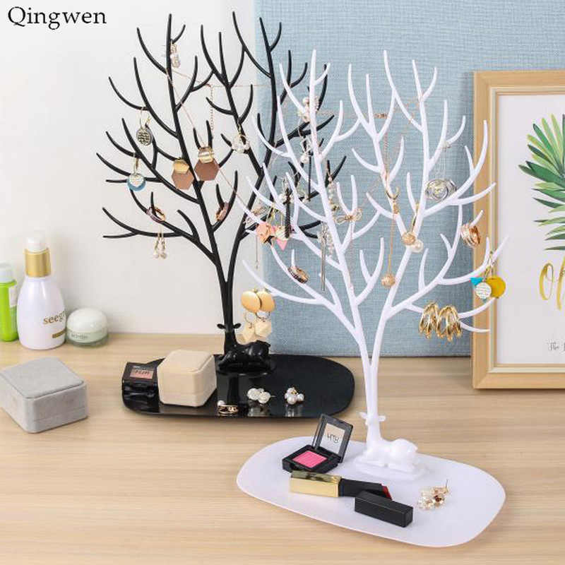 Qingwen Fashion Jewelry Display Antler Creative Necklace Jewelry Show Shelf Hanger Bracelet Pendant Jewelry Storage CA3071/w