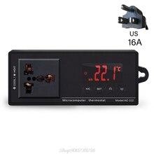 Aquarium Heater Pet-Thermostat Temperature-Controller Digital AC-112 Au04 20-Dropship