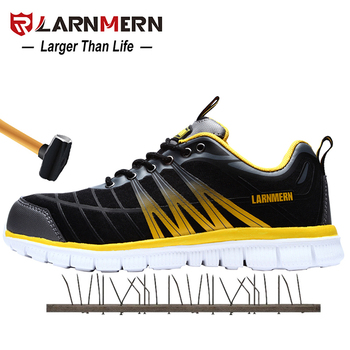 Mans Running shoes Comfortable Lightweight Anti-Smashing Anti-puncture Construction Sneaker Breathable Non-Slip Sports Shoes