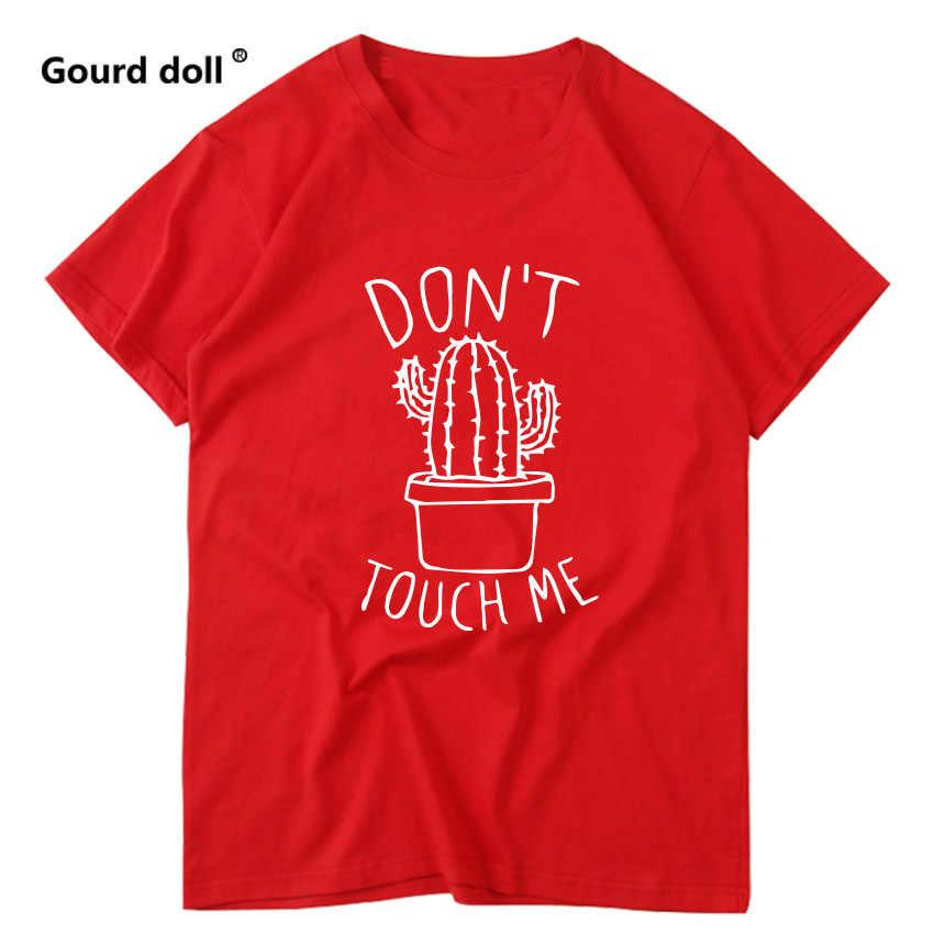 Harajuku cactus t-shirt vrouwen feminina dames ulzzang vrouwen t-shirt grafische rood t shirts vrouwen 2019 zomer femme kleding