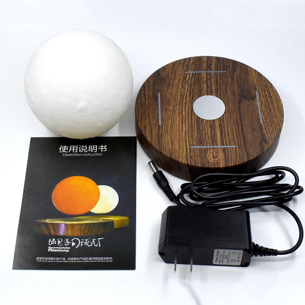 Lámpara de luz de Luna lámpara de escritorio de impresión 3D suspensión magnética para luz de hogar Luz de escritorio Luz de estudio luz Led Luz de cama - 5