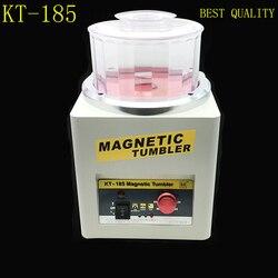 Hersteller KT-185 Magnetic Tumbler Schmuck Polierer Finisher Finishing Maschine, Magnetische Polieren Maschine AC 110 V/220 V