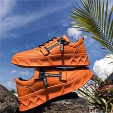 BIGFIRSE גברים נעליים יומיומיות Solf לנשימה נוח איש אופנה חצאיות Sneaker חדש Zapatillas Hombre 2019 גברים אופנה נעליים