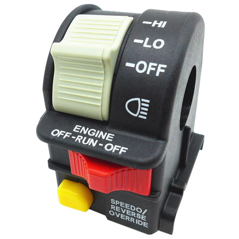 For Polaris Handlebar Hi Lo Beam Light Kill Stop Switch 2001 05 Sportsman Magnum|Car Switches & Relays| |  - title=