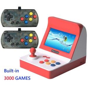 Image 4 - הכי חדש נייד רטרו מיני כף יד קונסולת משחקי 4.3 אינץ 64bit 3000 וידאו משחקים קלאסי משפחת משחק קונסולת מתנת רטרו ארקייד