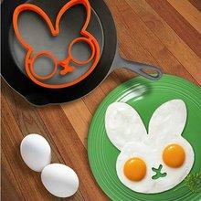 Кролик для яиц для омлета форма для завтрака силиконовые Форма для омлета Банни блинное кольцо формирователь кухонные инструменты для приготовления пищи для детей