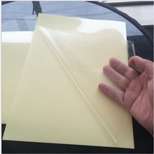 Transparent Clear printer paper A4 self-adhesive glossy and coated waterproof paper label stickers, suitable for laser printer