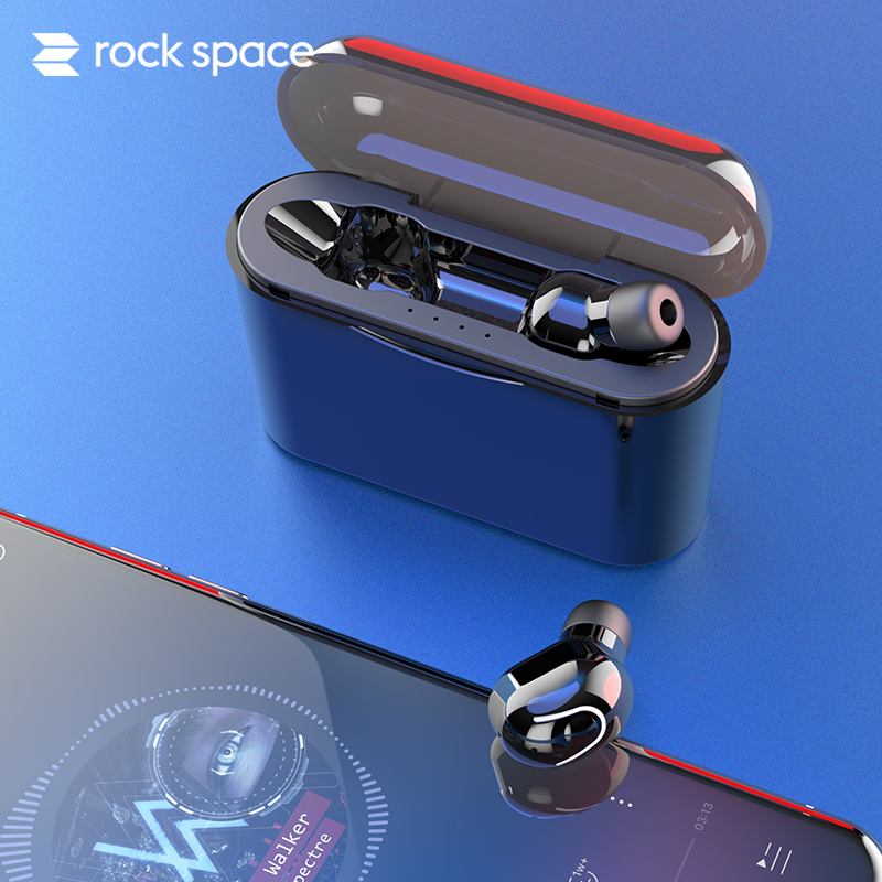 Bluetooth Headset Wireless Headphones HIFI Sound  V5.0 Earphones Stereo Earbuds With MIC Charge Box Power bank For Smartphone