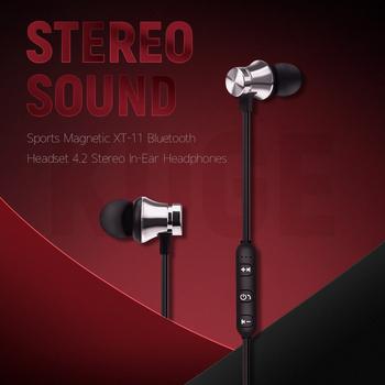 KUGE słuchawki Bluetooth sportowe słuchawki magnetyczne V4 2 Stereo Sport wodoodporne słuchawki douszne bezprzewodowe w ucho zestaw słuchawkowy z Mic dla iPhone Samsun tanie i dobre opinie Inne CN (pochodzenie) Bezprzewodowy + Przewodowe Do Internetu Bar Monitor Słuchawkowe Do Gier Wideo Wspólna Słuchawkowe