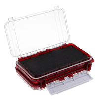 Waterproof Double Sided Tackle Organizer Fly Fishing Box Flies Jig Lure Case|Fishing Tackle Boxes| |  -