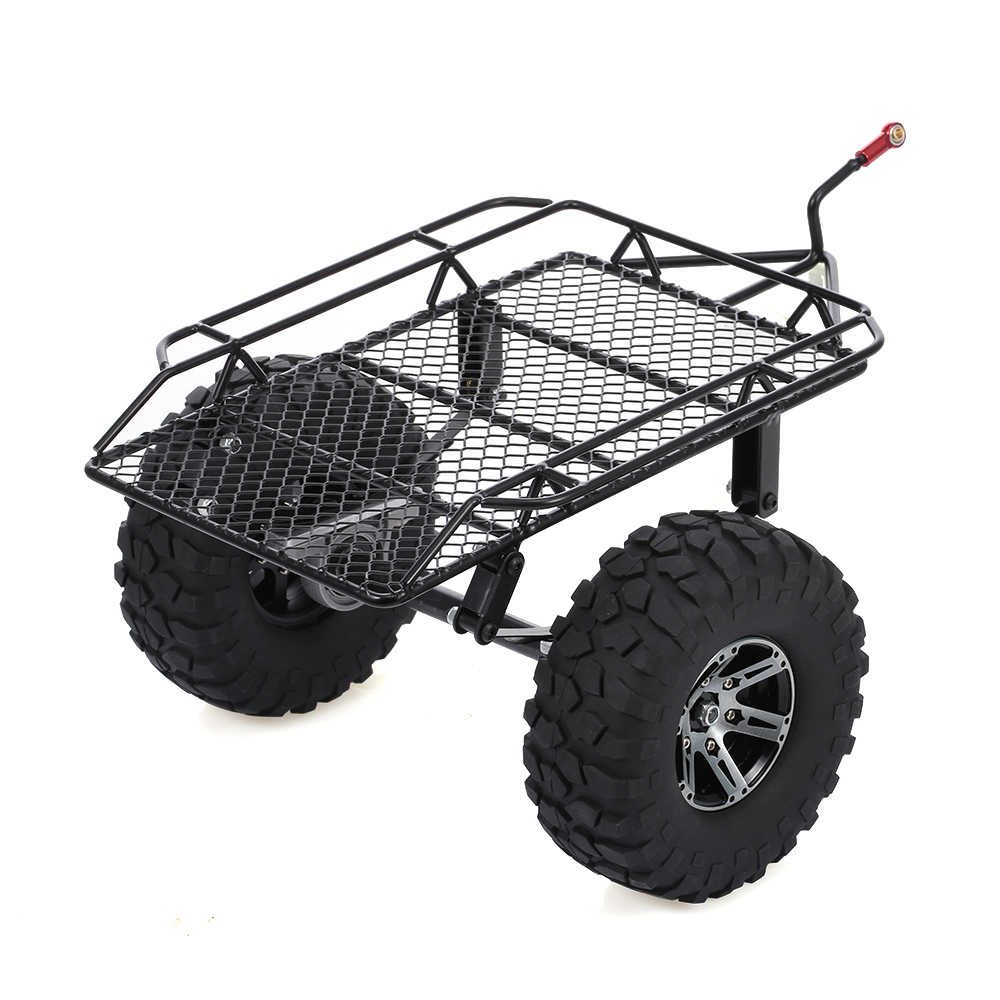 Trailer Car Hopper Trail for 1/10 Traxxas HSP Redcat RC4WD Tamiya Axial SCX10 D90 HPI RC Crawler Car DIY