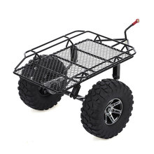 Trailer Auto Hopper Trail Voor 1/10 Traxxas Hsp Redcat RC4WD Tamiya Axiale SCX10 D90 Hpi Rc Crawler Auto Diy