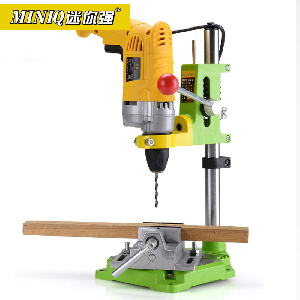 MINIQ BG6116 Precision Electric Drill Stand Power Rotary Tools Accessories Bench Drill Press Stand Base Woodworking Tools