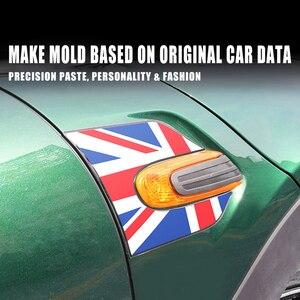 Image 4 - Union Jack guardabarros de señal de giro para coche, pegatina decorativa 3D para Mini Cooper Clubman F55 F56 F57 F54, accesorios para Clubman, 60 años
