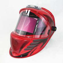 Auto Oscuramento Maschera di Saldatura 3 Filtri Vista Dimensioni 115x85mm DIN 4 13 Ottico 1111 4 Sensori ANSI CSA AS/NZS Casco di Saldatura