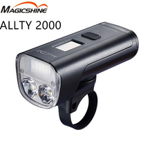 Bicycle Headlight Road-Bike Magicshine Allty Waterproof 2000 Lumens Oled-Screen