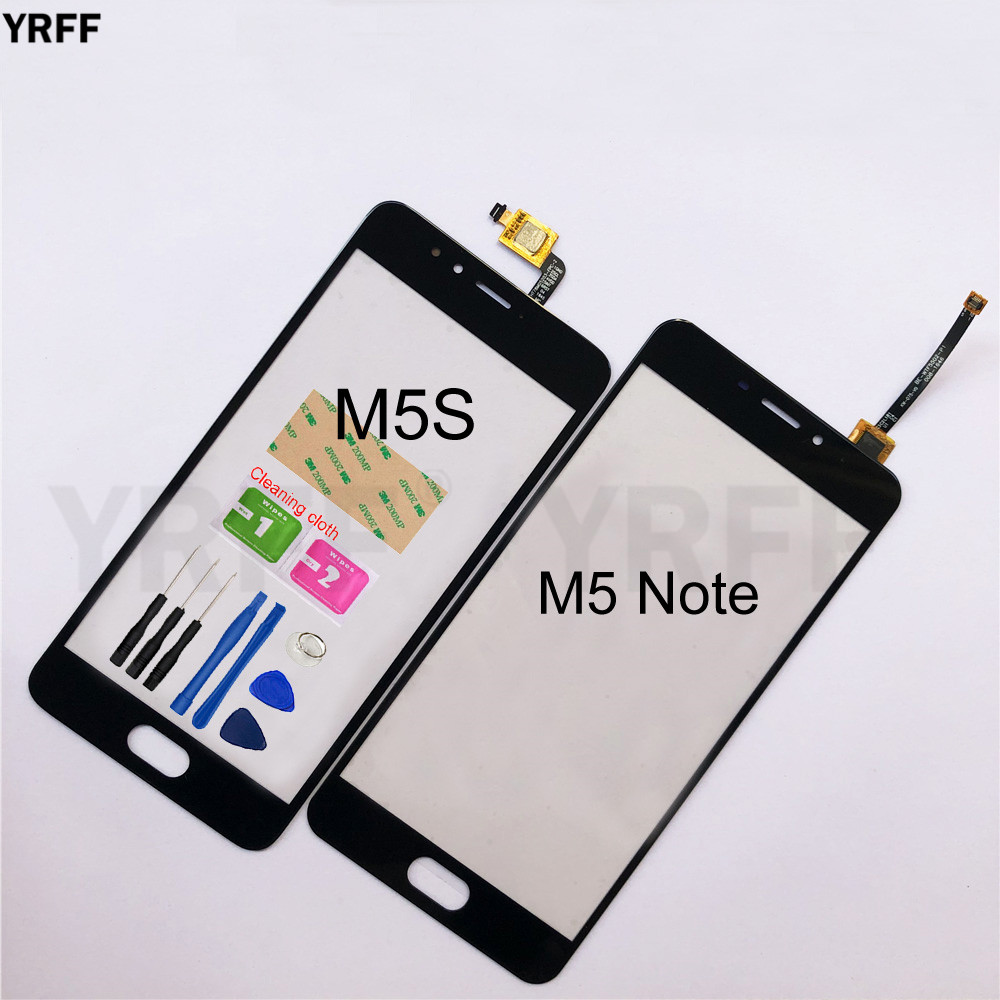 Touchscreen For Meizu M5 Note M5S Touch Screen Digitizer Sensor Glass Panel Lens Replacement