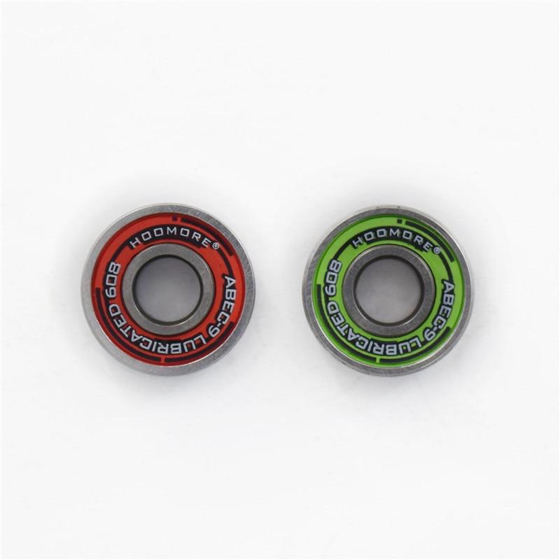 Lubricated ABEC-9 Skateboard Bearing 608 Skate Board Driftboard Inline Skates Roller Patines  ILQ9 For SEBA Twincan 8pcs